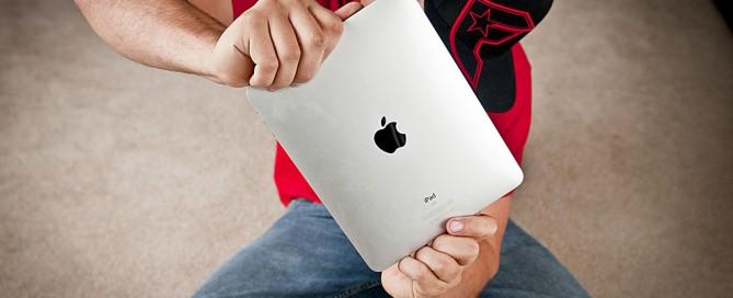 Werken met Tumultmateriaal op een iPad