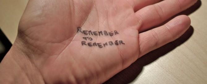 Je geheugen train je zo!
