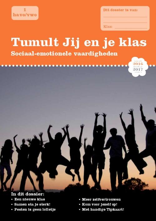 Tumult SE1 Jij en je klas Cover 2016