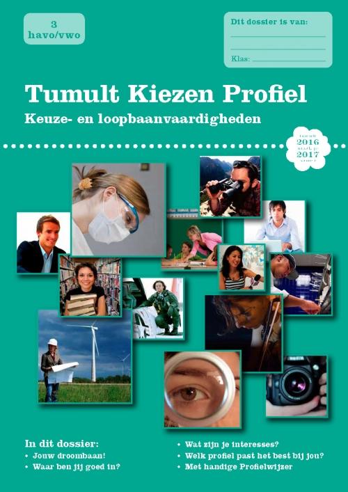 Tumult Kiezen Profiel Cover 2016