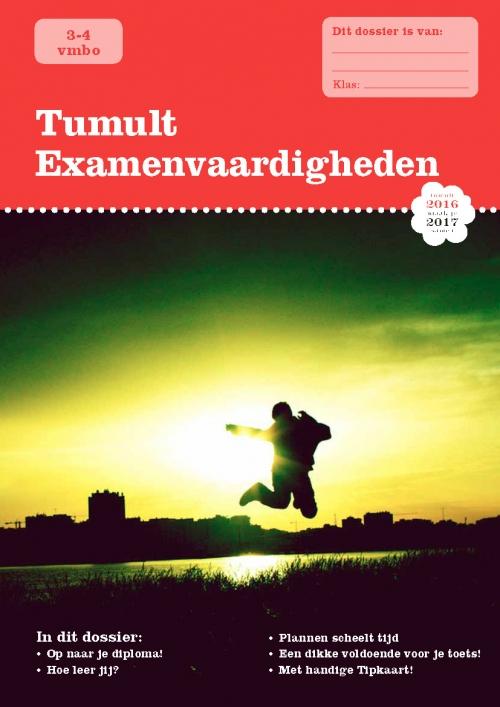 Tumult SV vmbo3-4 Cover 2016