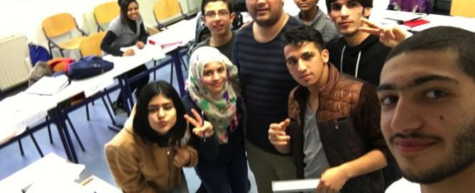Selfie met de klas