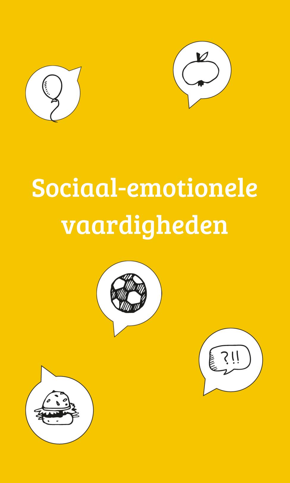 Sociaal-emotionele vaardigheden