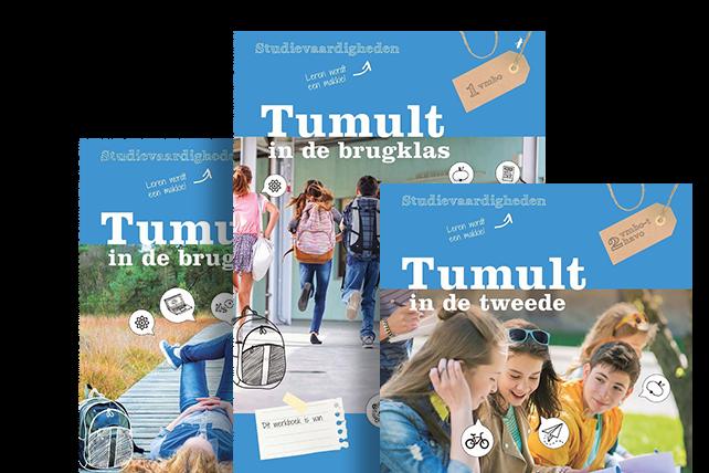 Tumult methode voor Studievaardigheden in het voortgezet onderwijs